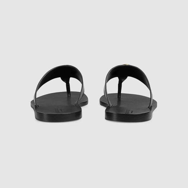 Gucci thong sandal with Double G
