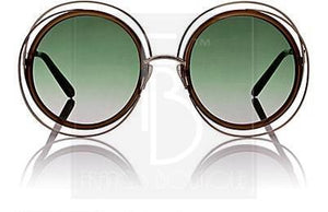 Chloe Carlina Oversized Sunglasses