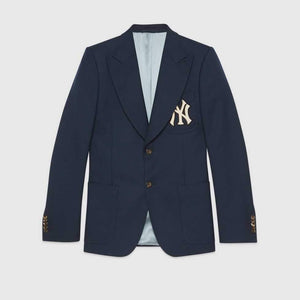 Gucci Mens Jacket With Ny Yankees Patch