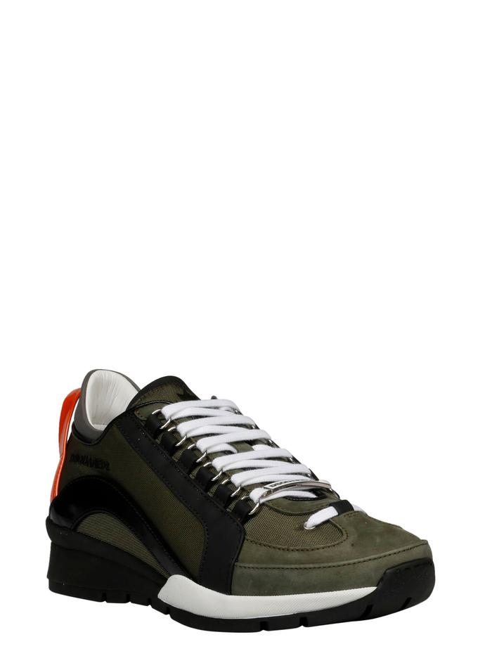 DSQUARED2 GREEN SNEAKERS