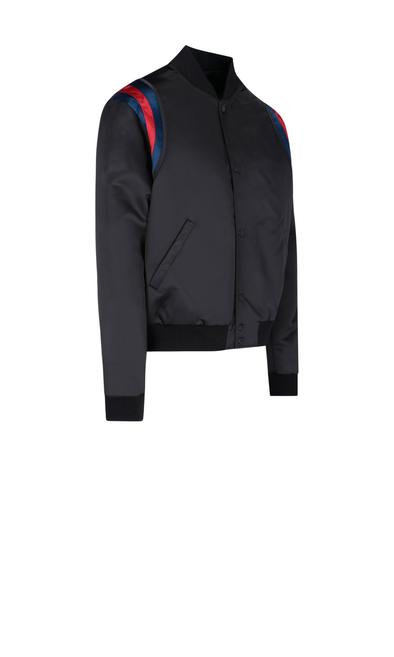 GUCCI BLACK OUTERWEAR JACKET