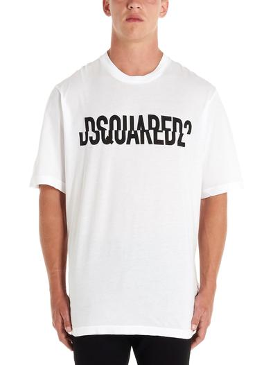 DSQUARED2 WHITE T-SHIRT