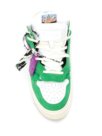 OFF-WHITE GREEN SNEAKERS