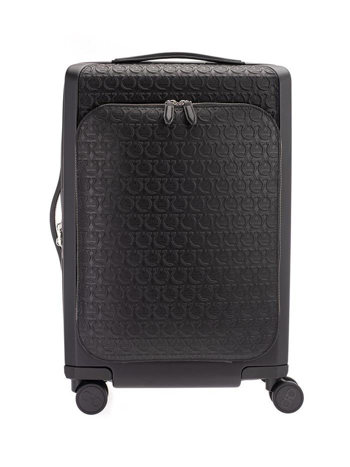 SALVATORE FERRAGAMO BLACK TROLLEY
