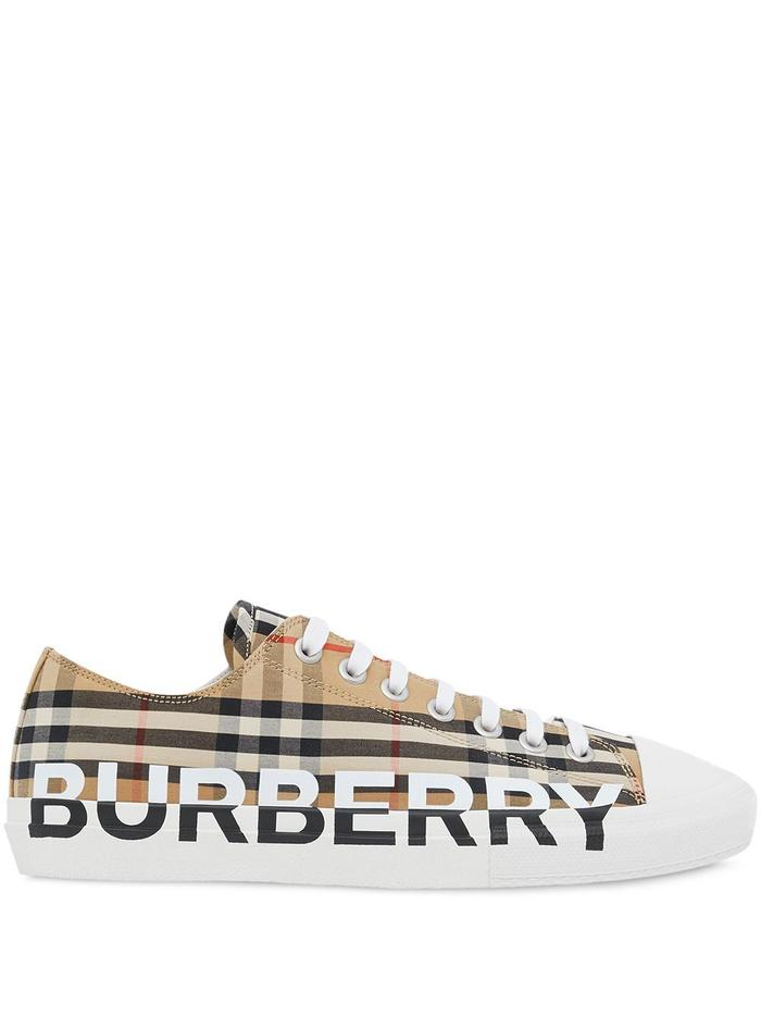 BURBERRY BEIGE SNEAKERS