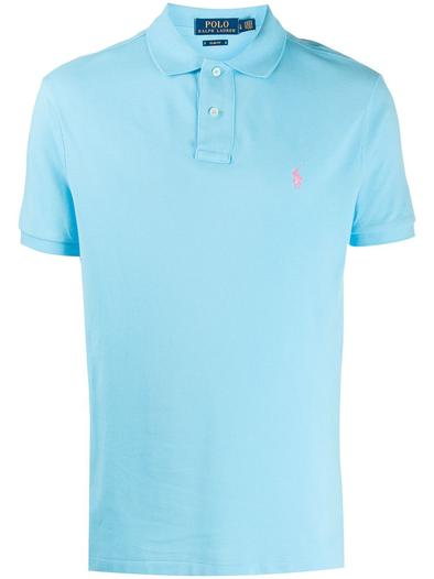 RALPH LAUREN LIGHT BLUE POLO SHIRT