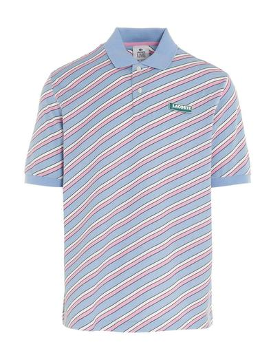 LACOSTE MULTICOLOR POLO SHIRT