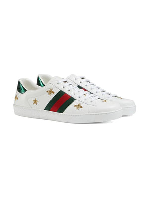 GUCCI WHITE SNEAKERS