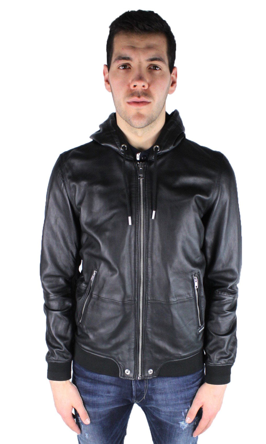 Diesel L-Akura 900 Men's Leather Jacket