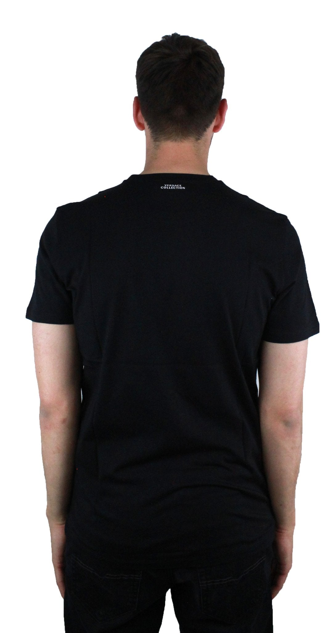 Versace Collection V800683S VJ00289 V7008 Black T-Shirt
