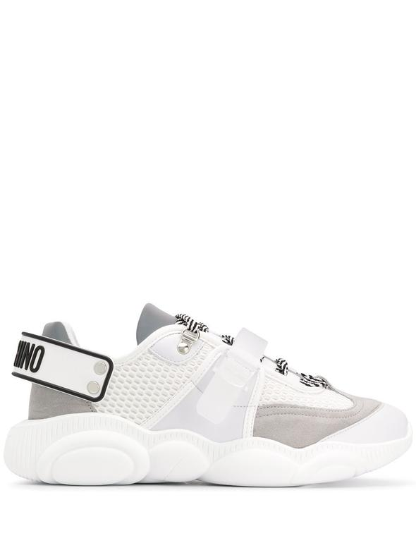 MOSCHINO WHITE SNEAKERS MB15163G0AGJ510A