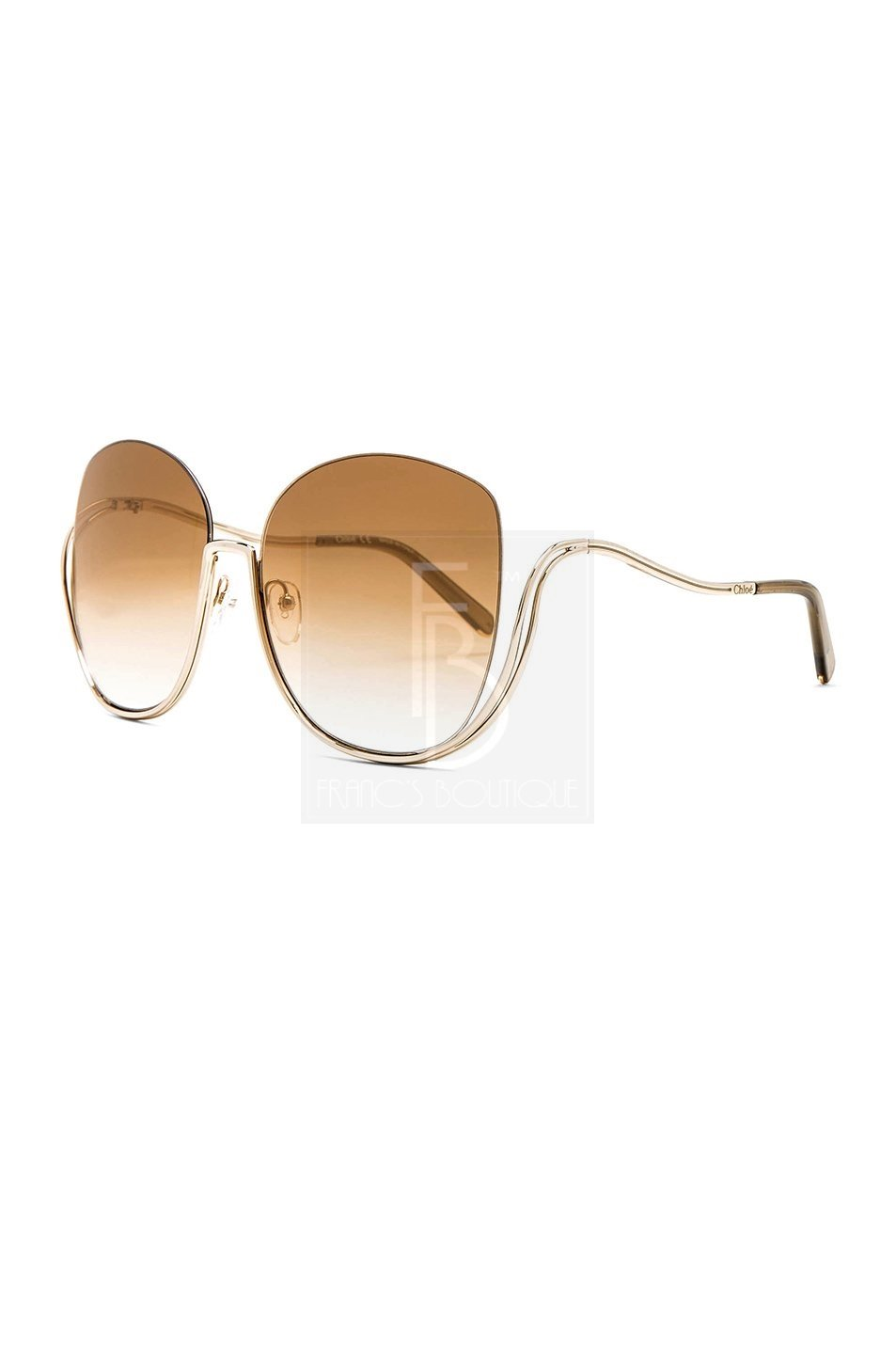 Chloe Milla Oversized Sunglasses