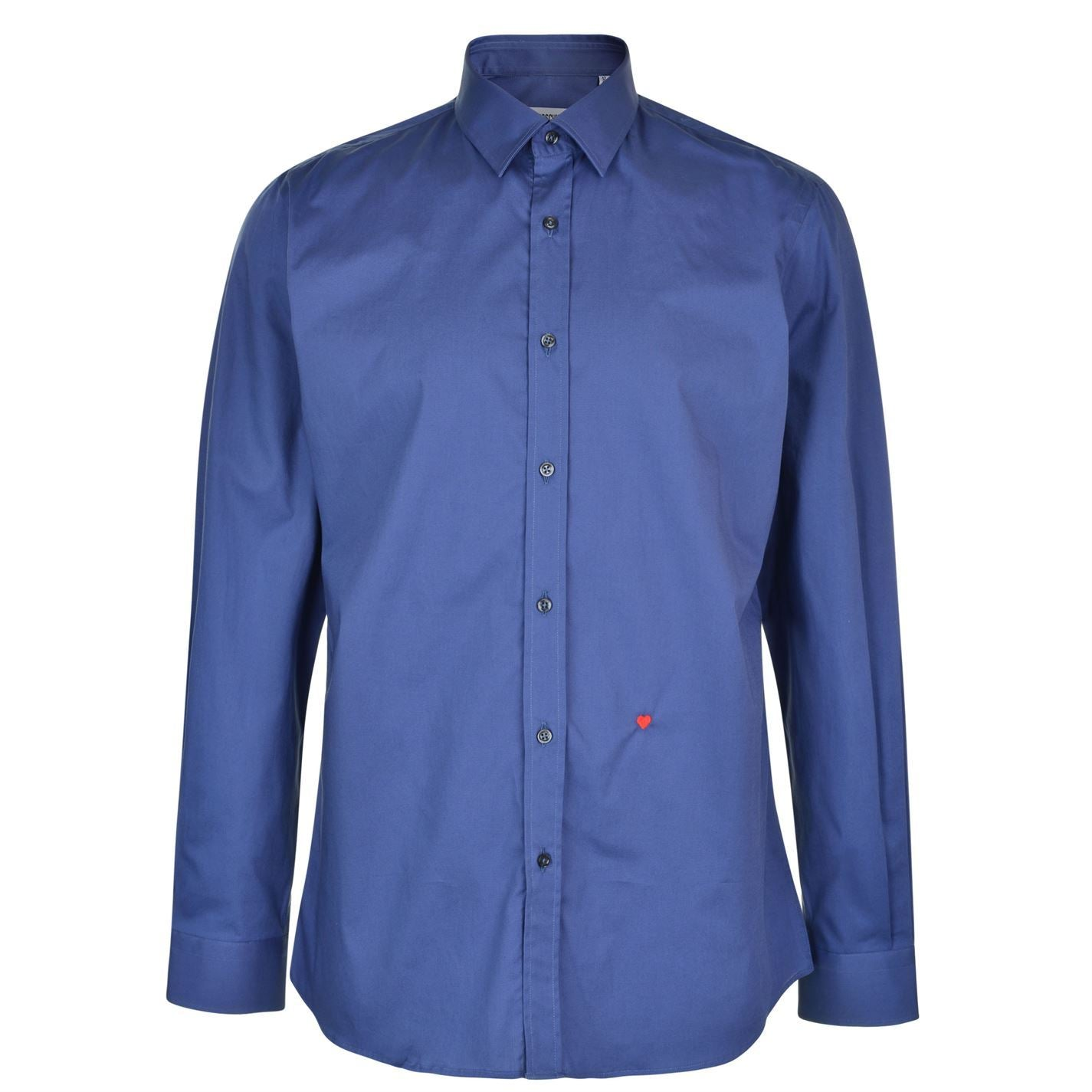 Moschino HR701X1B 65301 06 Dark Blue Casual Shirt