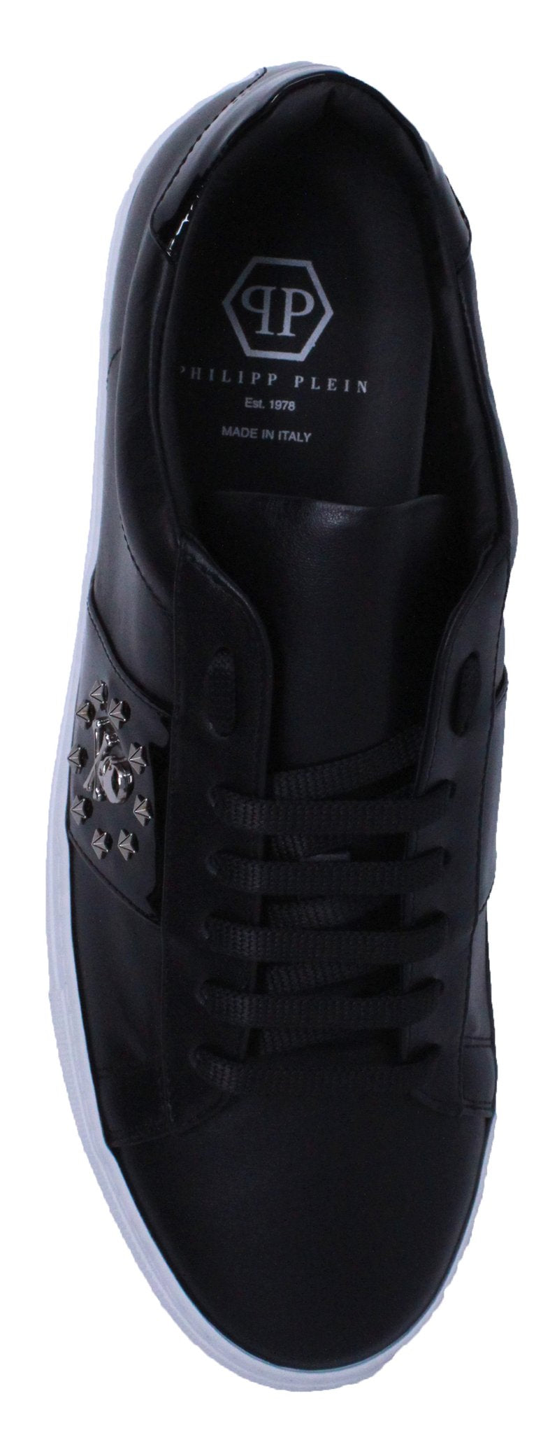 "Philipp Plein MSC1580 02 ""Edwo"" Black Sneakers"