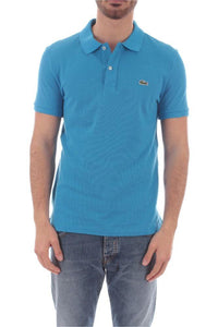 LACOSTE LIGHT BLUE POLO SHIRT