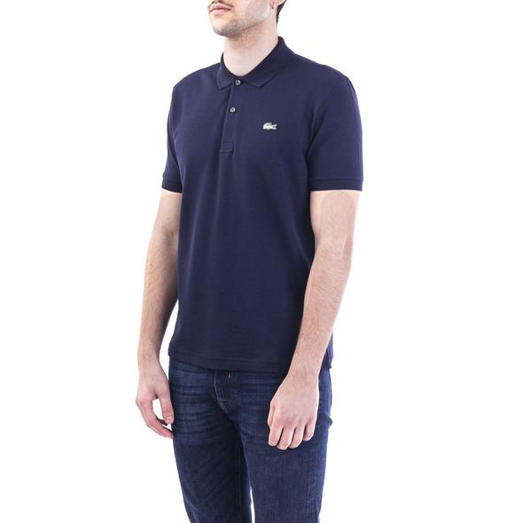 LACOSTE BLUE POLO SHIRT