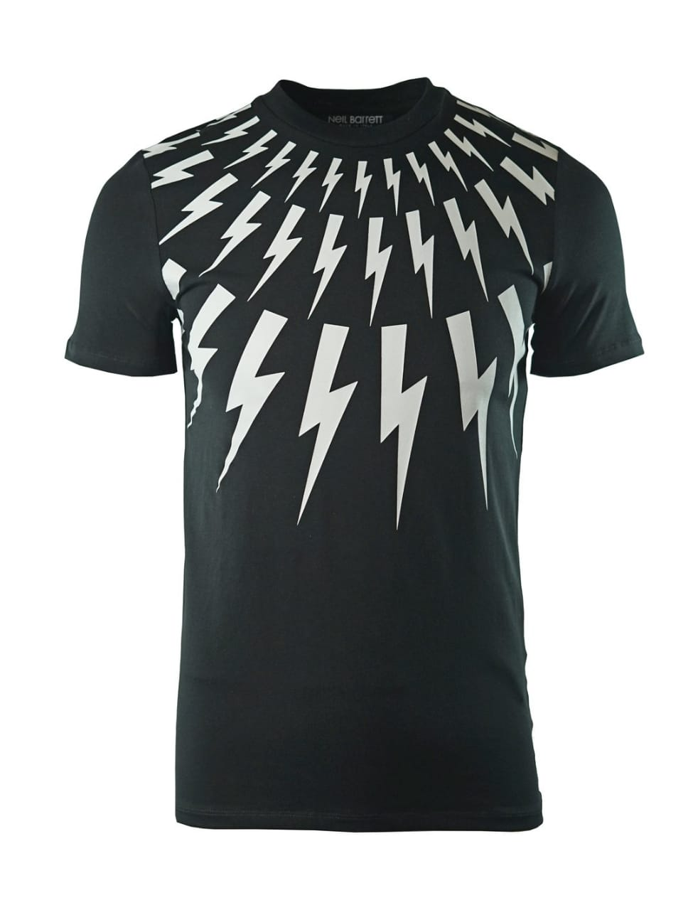 Neil Barrett PBJ442F H556S 524 Black T-Shirt