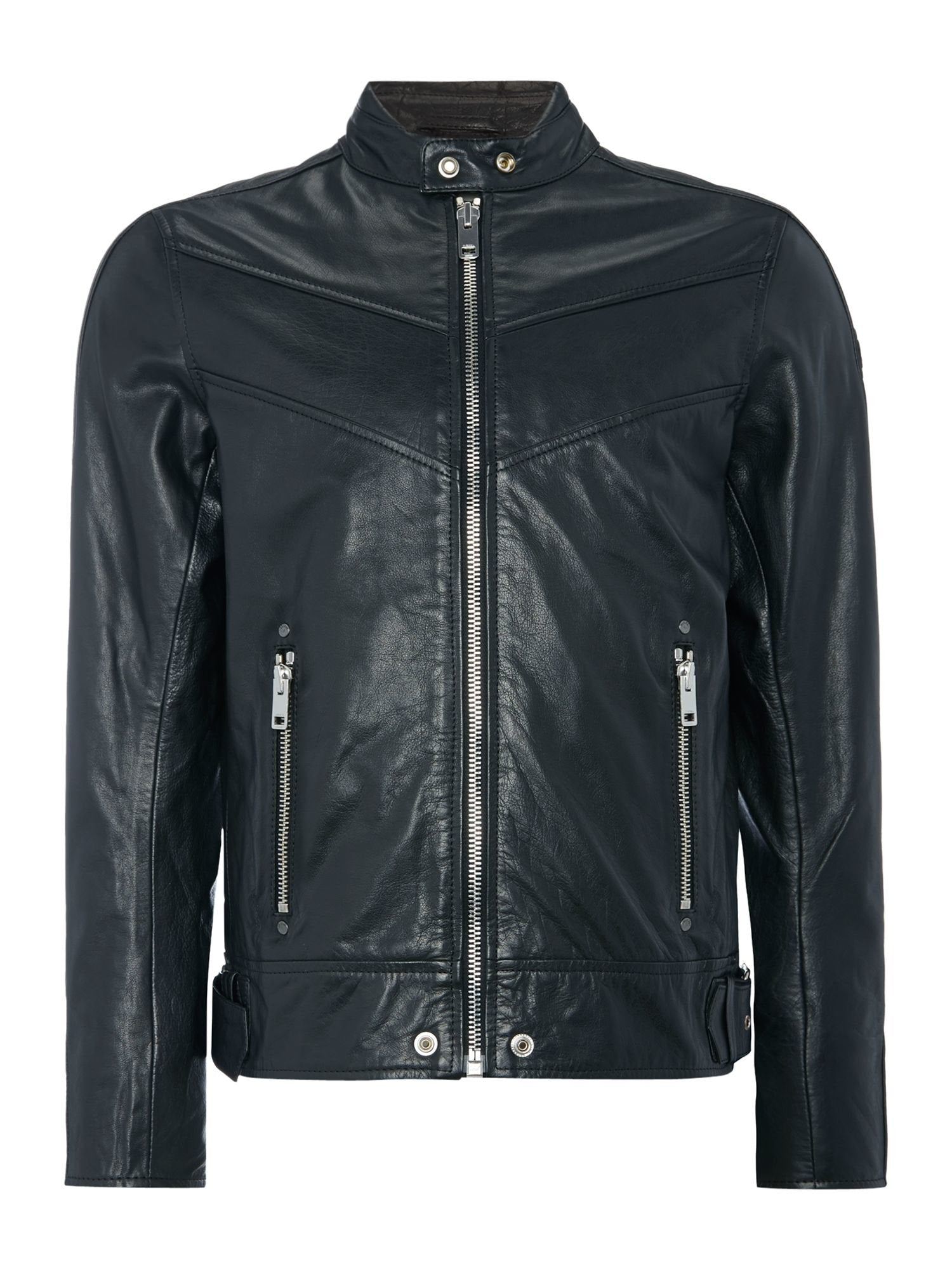 Diesel L-Reed 900 Leather Jacket