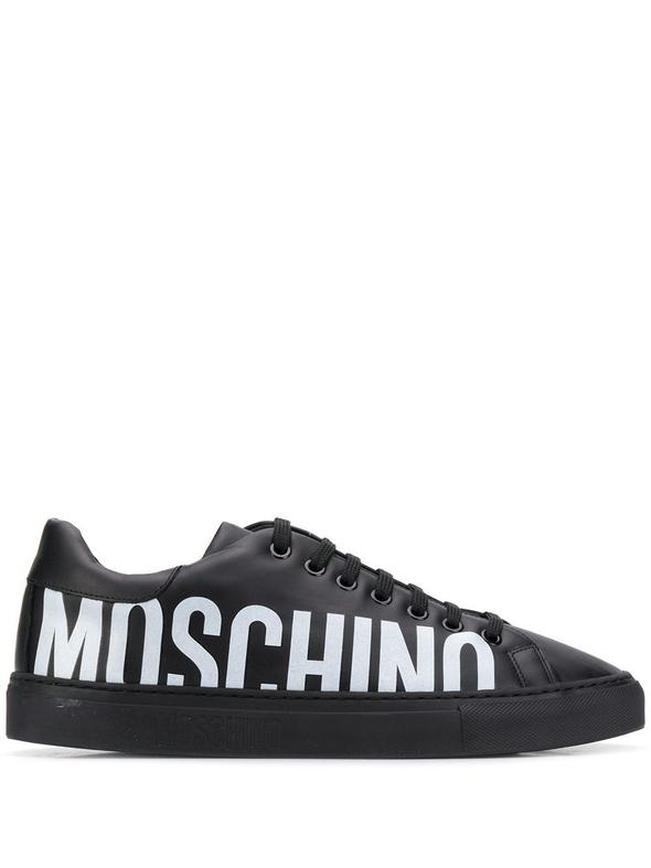 MOSCHINO BLACK SNEAKERS