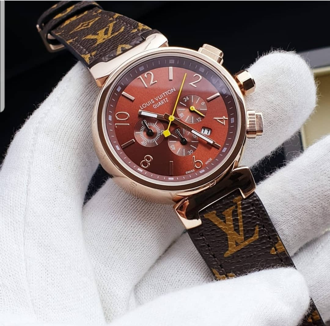 Louis Vuitton Tambour Moon Chronograph 44
