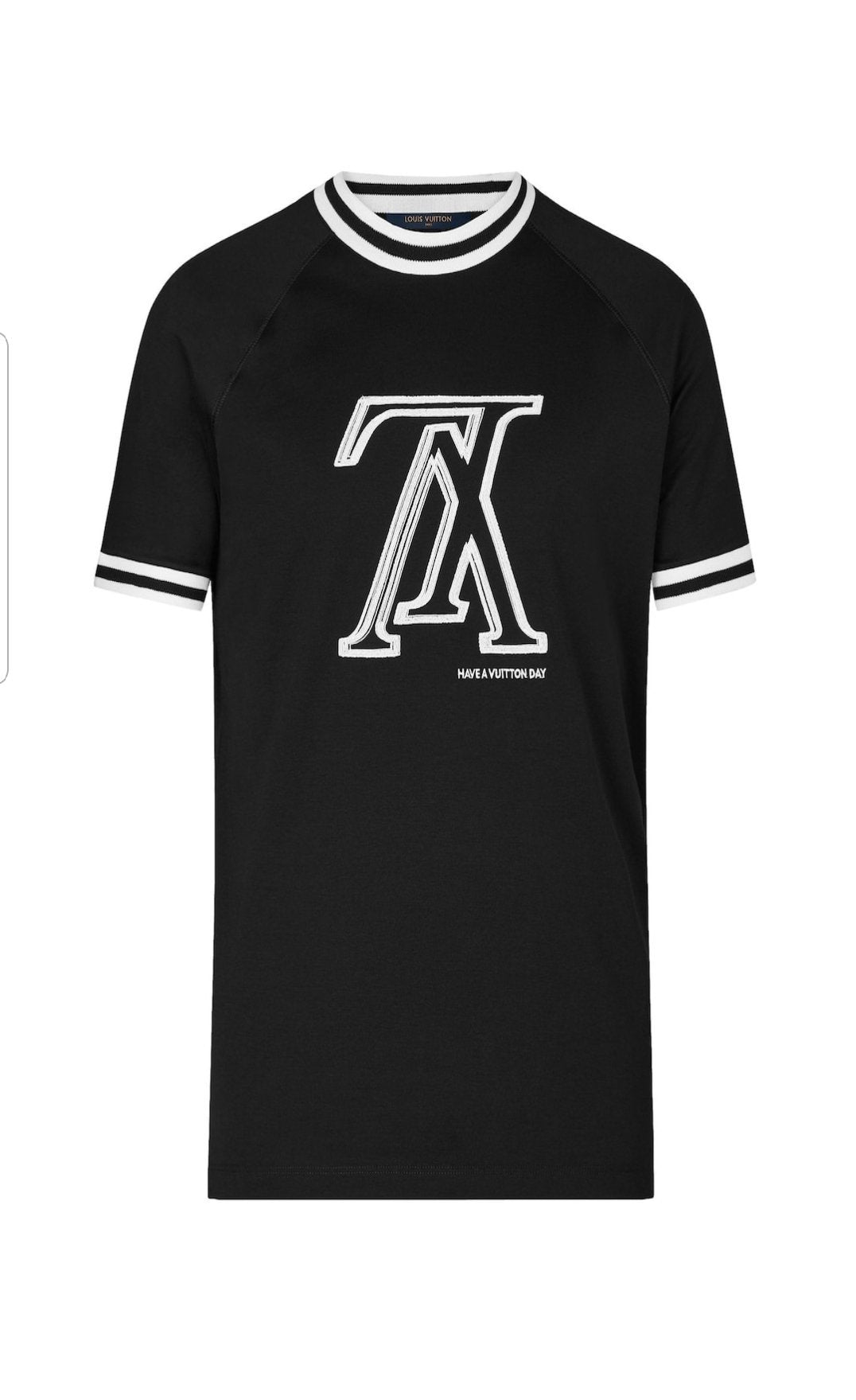 ba20ffefaca3 Upside Down LV T-shirt with Tipping – franc s boutique