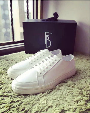 Fb Vintage Sneaker Shoes Lowtop Blacksole