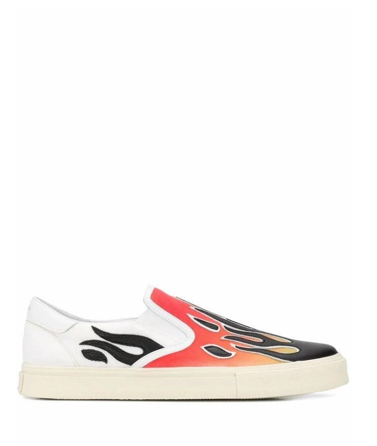 AMIRI RED SLIP ON SNEAKERS