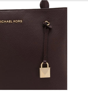 MICHAEL KORS PURPLE HANDBAG