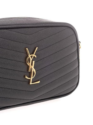 SAINT LAURENT BLACK SHOULDER BAG