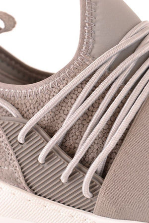 FILLING PIECES GREY SLIP ON SNEAKERS