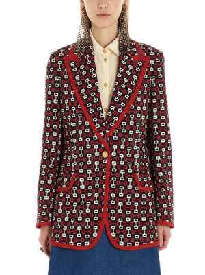 GUCCI RED BLAZER