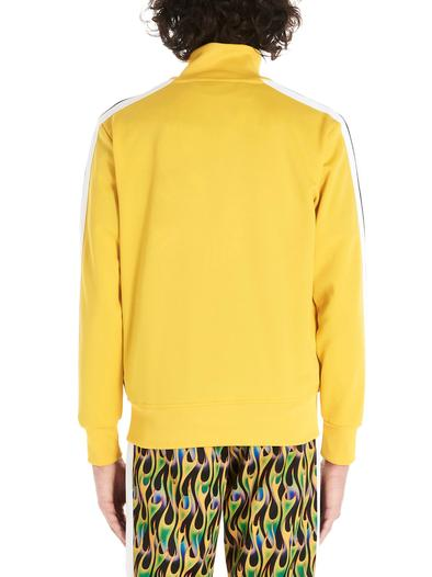 PALM ANGELS YELLOW SWEATSHIRT