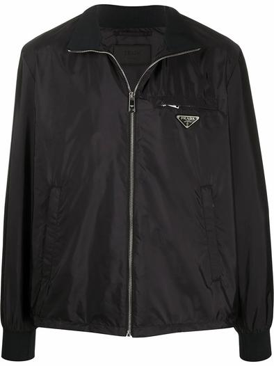 PRADA BLACK OUTERWEAR JACKET