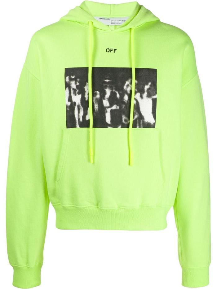 OFF-WHITE YELLOW SWEATSHIRT