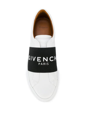 GIVENCHY WHITE SLIP ON SNEAKERS