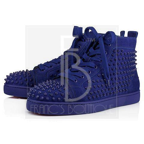 b3f212ca3fb4 Christian Louboutin Louis Spikes Men s Flat – franc s boutique