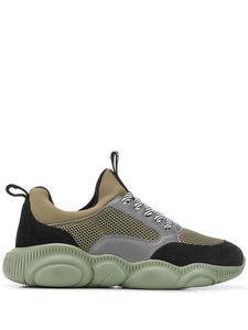MOSCHINO GREEN SNEAKERS