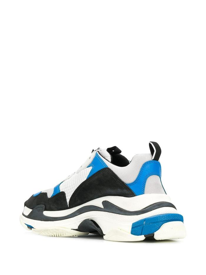 BALENCIAGA LIGHT BLUE SNEAKERS