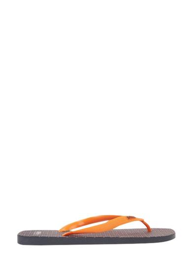 HUGO BOSS ORANGE FLIP FLOPS