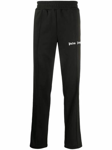 PALM ANGELS BLACK JOGGERS