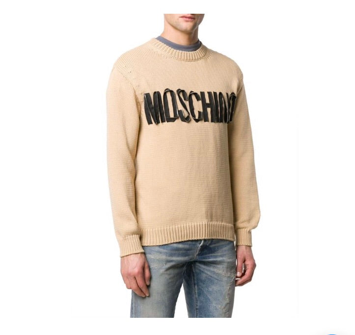 MOSCHINO BEIGE SWEATER