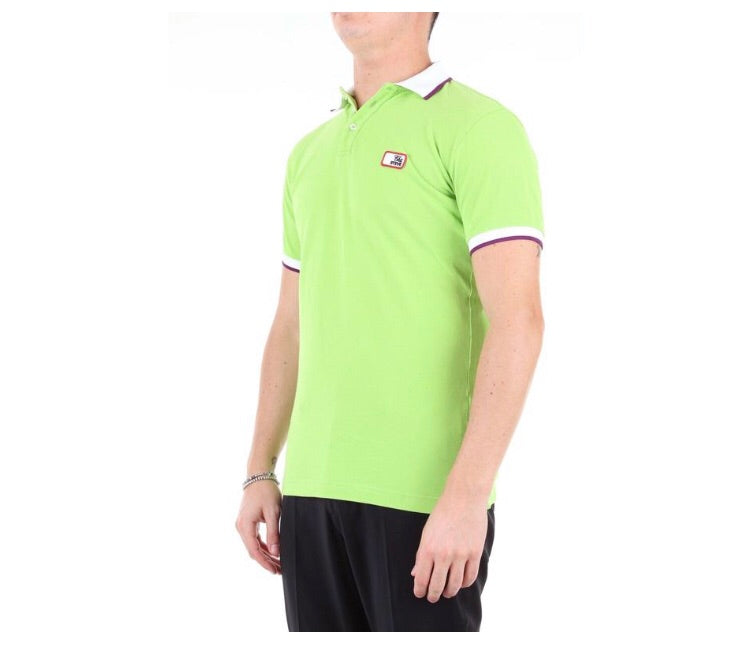 DSQUARED2 GREEN POLO SHIRT