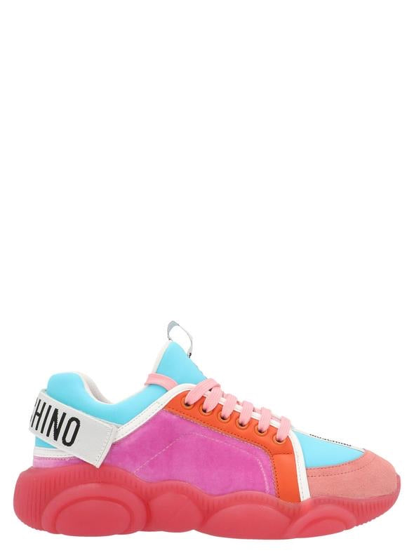 MOSCHINO PINK SNEAKERS