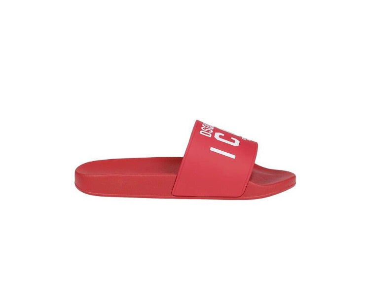 DSQUARED2 RED SANDALS