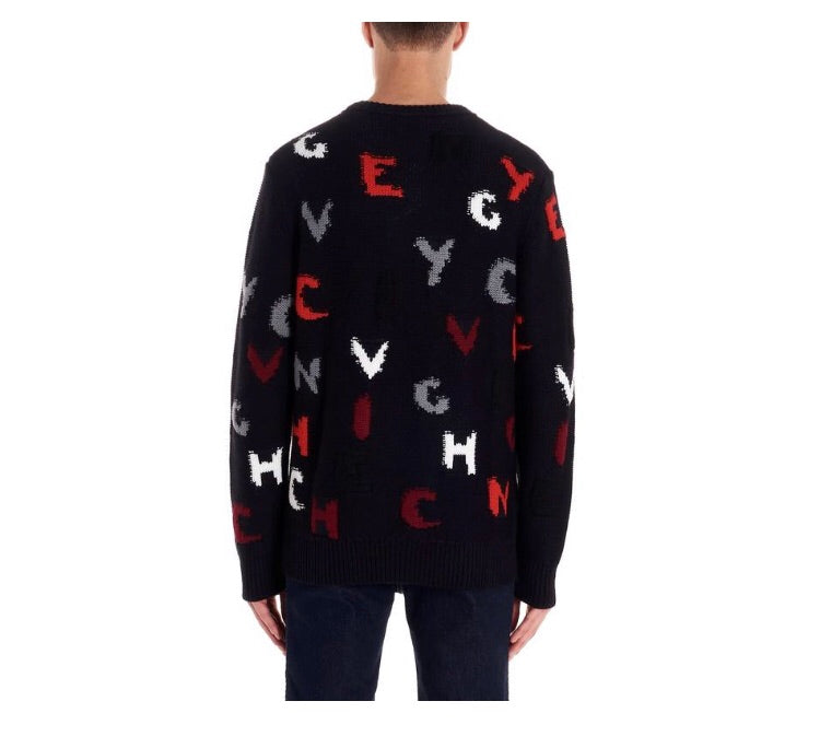 GIVENCHY BLUE SWEATER
