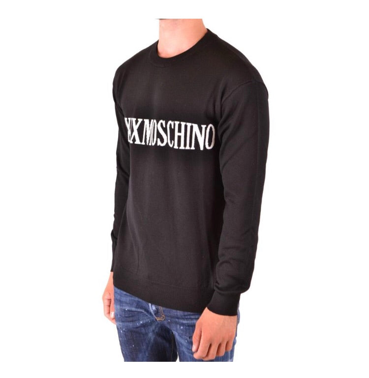 MOSCHINO BLACK SWEATER