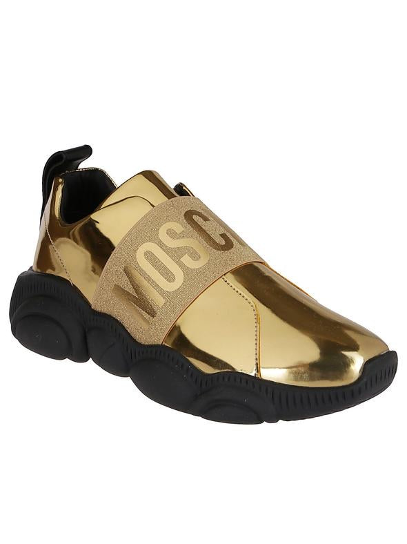 MOSCHINO GOLD SNEAKERS