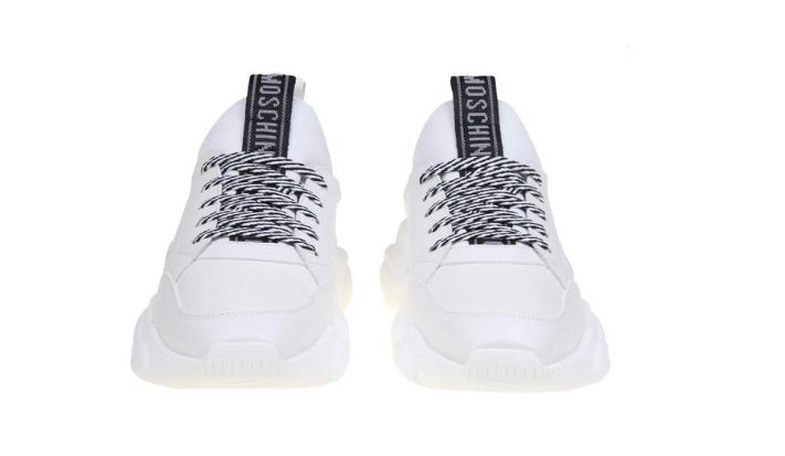 MOSCHINO WHITE SNEAKERS