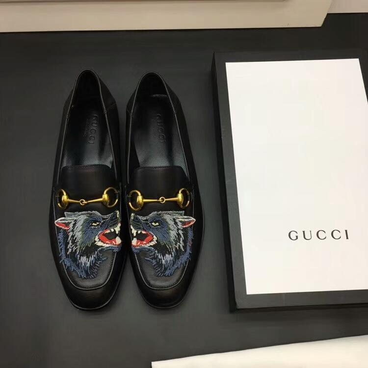 Gucci Loafer With Wolf