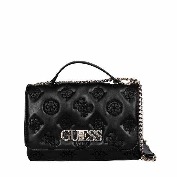 GUESS BLACK SHOULDER BAG